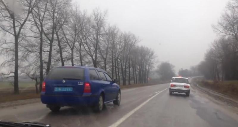 Для начальника поліції Бучача правила не писані (Відео)?