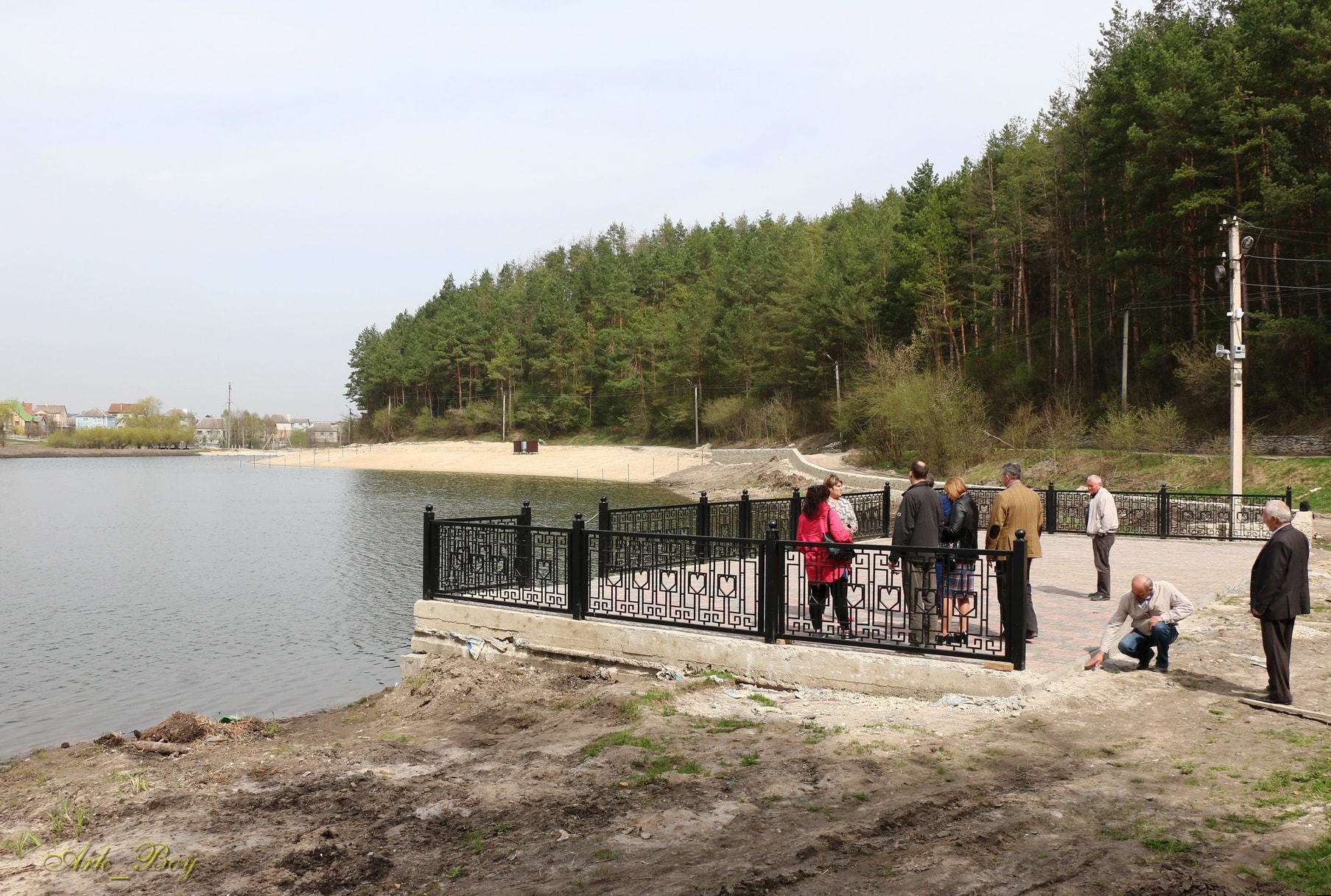 В Шумську взялися відновлювати парк відпочинку«Соснина»