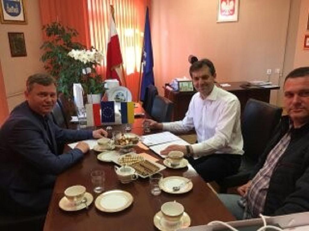 Бургомістр з Польші уклав договір з міським головою Шумська