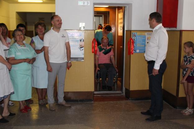 У Шумській лікарні вперше за 35 років почав працювати ліфт
