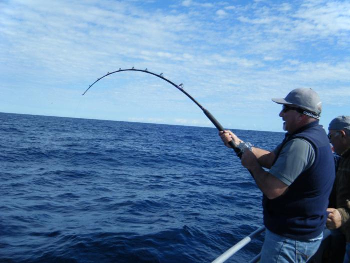У Ланівцях чоловік спіймав рибину вагою 16 кілограмів (Фото)