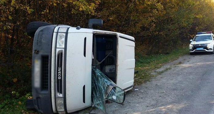 ДТП: п'яний водій втік у ліс