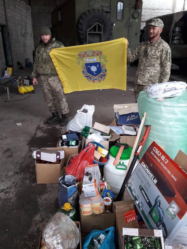 Військові отримали матеріальну допомогу від земляків з Чортківщини
