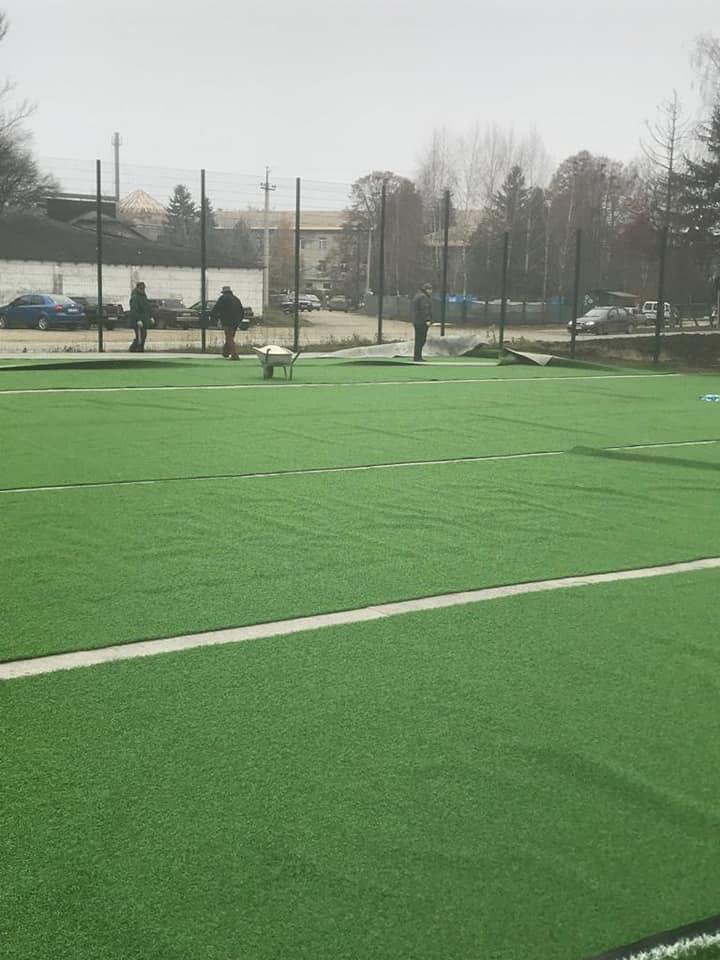 У Збаражі з'явиться сучасний спортивний майданчик