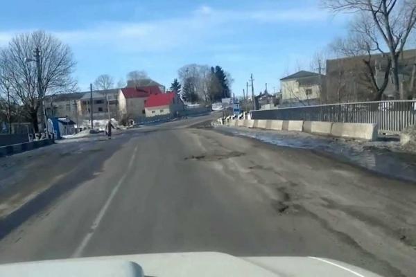 Дорогу в селі Озерна зробили безпечнішою