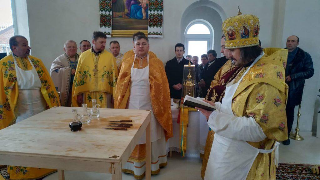 Освятили новозбудований православний храм (Фото)