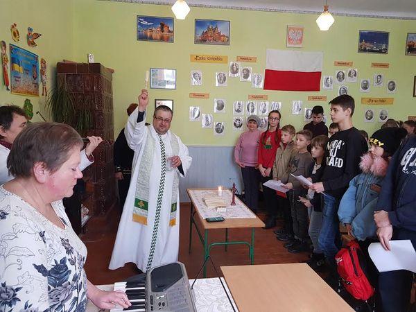 Оплаткова зустріч у чортківській польській школі
