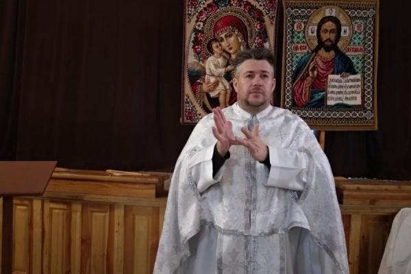 На Тернопіллі священик чи не єдиний в Україні проводить Службу Божу мовою жестів