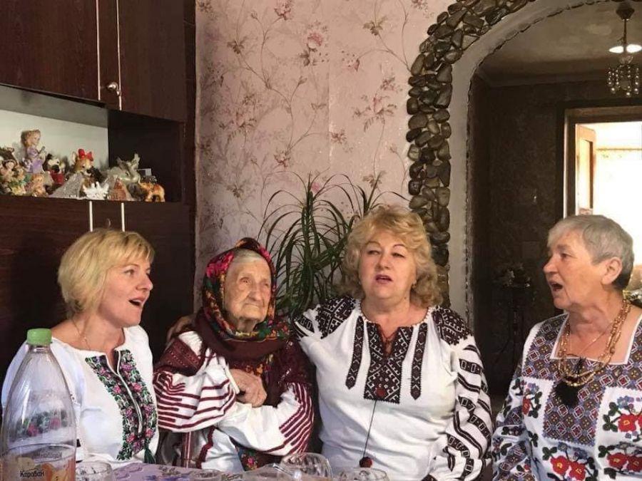 Довгожителька з Тернопільщини відсвяткувала 103-тій день народження