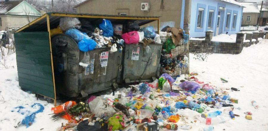 Вулиці Кременця перетворюються у сміттєзвалище через відсутність контейнерів (фото)