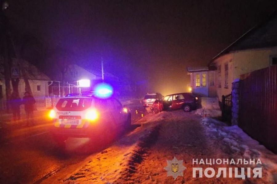 У Почаєві п'яний водій переїхав поліцейського (Фото)