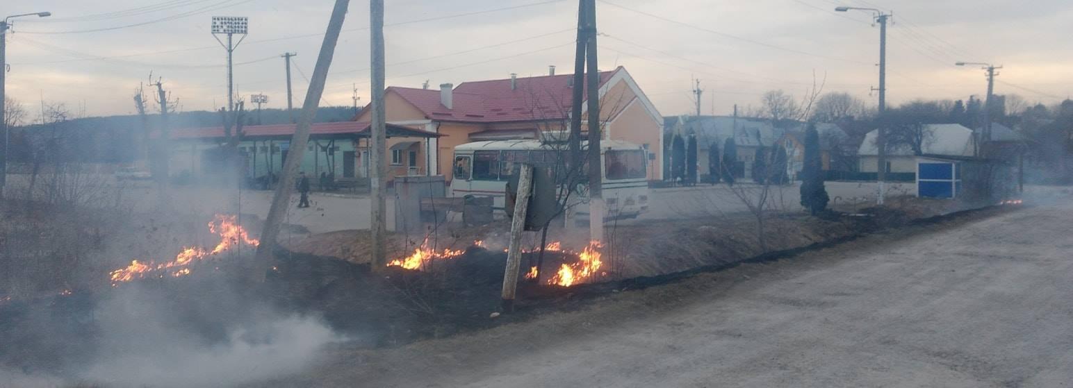 У Бережанах ледве не підпалили автовокзал