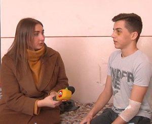 Школяреві зламали носа на очах у інших учнів (Відео)