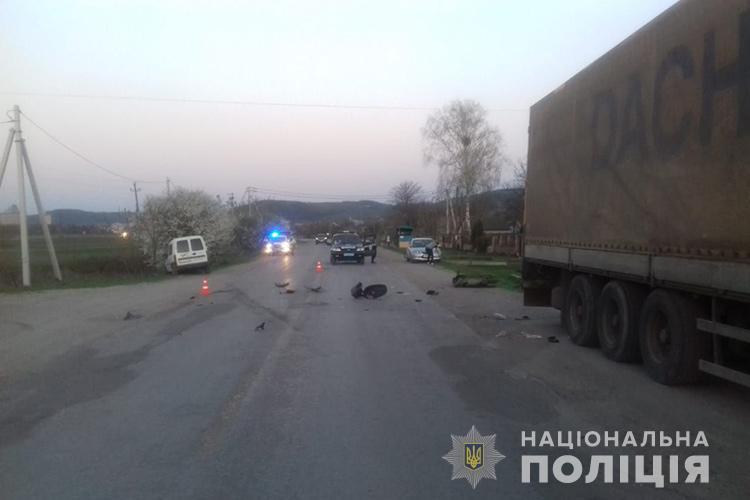 На Кременеччині в ДТП загинула пенсіонерка