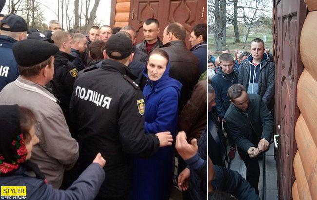 П'яні активісти побили прихожан: скандал з переходом в ПЦУ