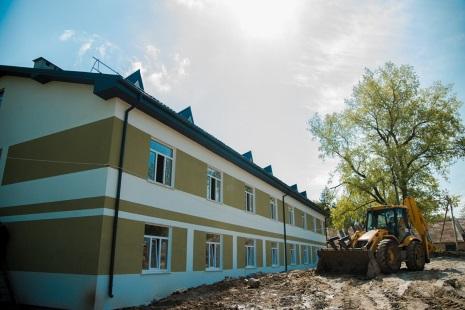 У Теребовлі триває будівництво трьох гуртожитків