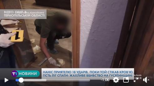 Жахливе вбивство: чоловік наніс приятелеві 18 ударів ножем і пішов спати