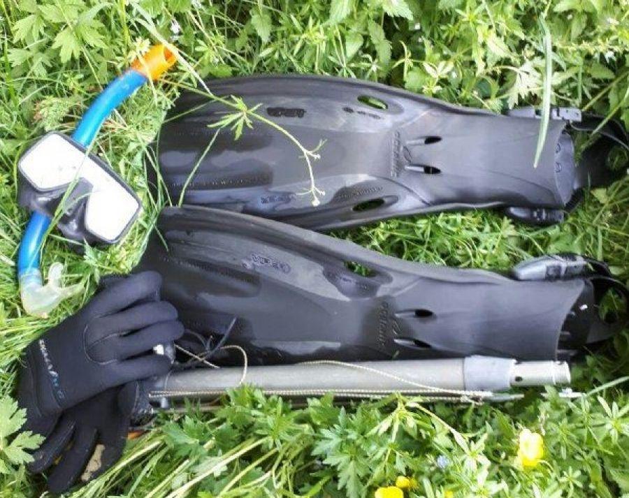На Тернопільщині оштрафували чоловіка, який займався підводним полюванням