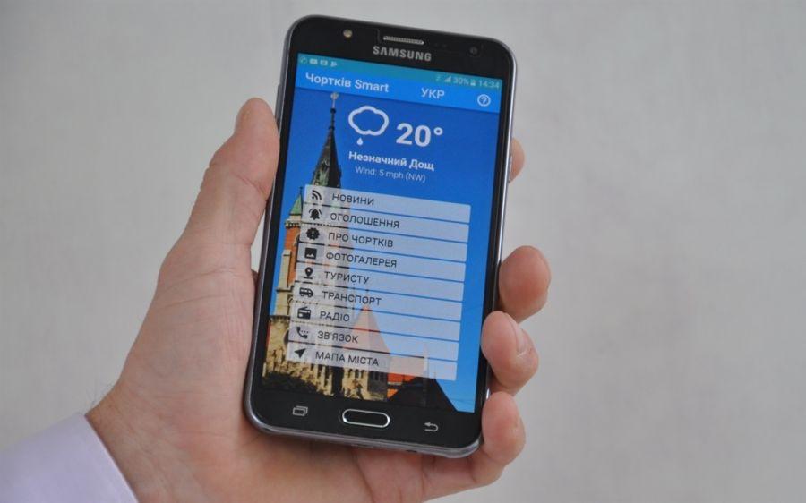 Відтепер райцентр на Тернопільщині має свій додаток для смартфонів