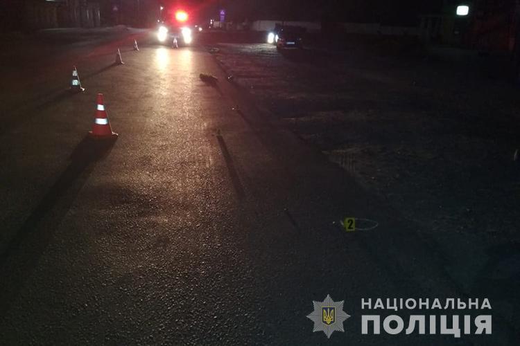 На Тернопільщині водій збив перехожих та втік