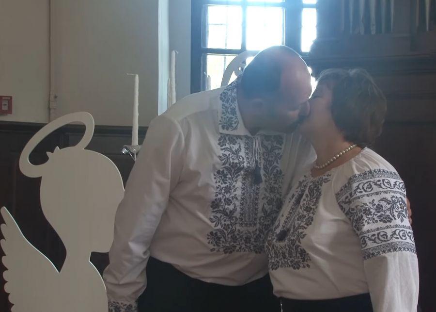 У Збаразькому замку повторно одружилася пара, яка у шлюбі вже 38 років