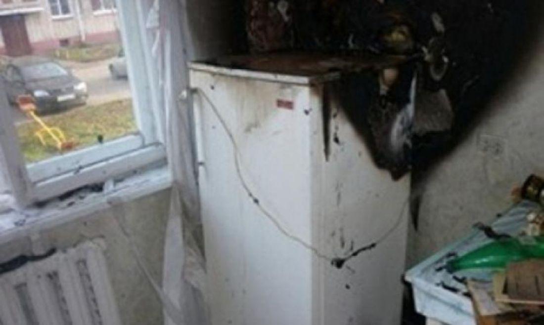 Через несправний холодильник ледь не згоріла хата