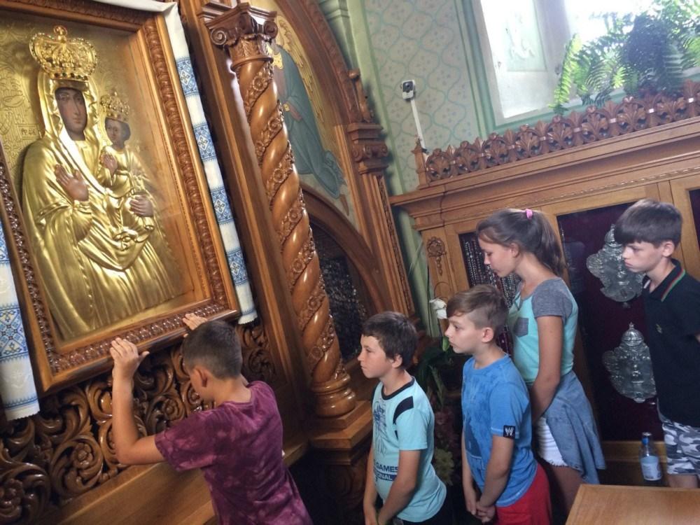 У Зарваниці триває християнський табір для дітей з Донбасу