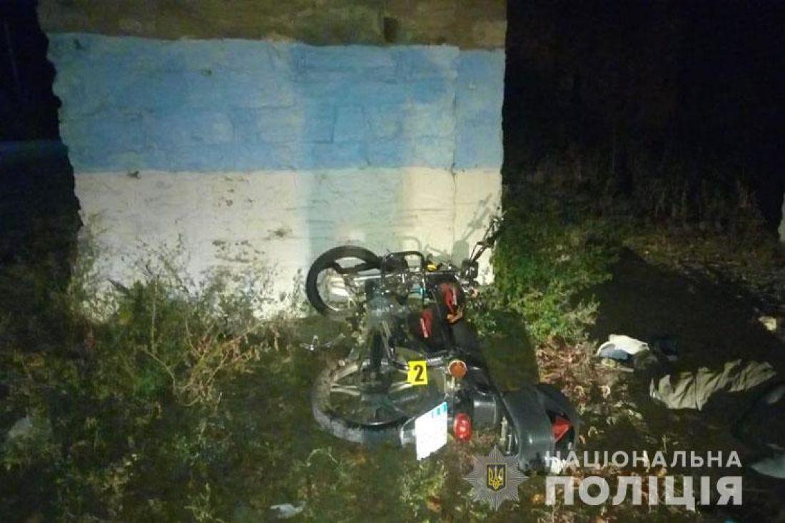 На Тернопільщині на смерть розбився мотоцикліст