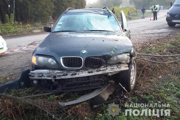 Через п'яного водія загинуло двоє юнаків (Фото)