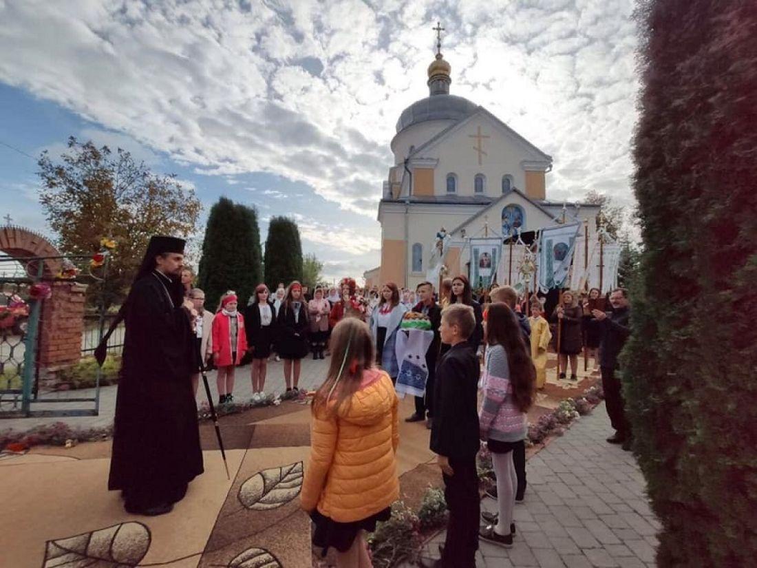 На Тернопільщині відновили храм, який постраждав через підпал у 2014