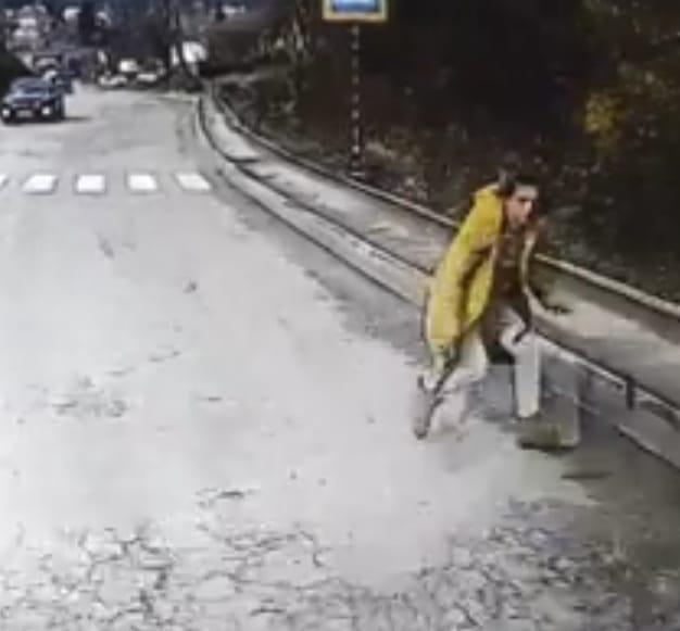 На Тернопільщині жінка кинулася під колеса авто (Відео)