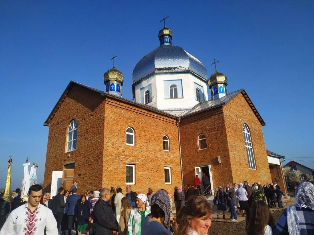 На Тернопільщині освятили новозбудований храм