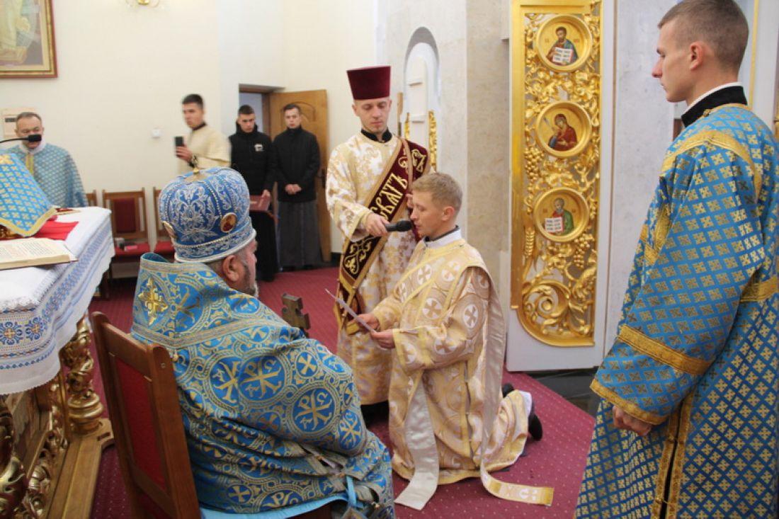 У Зарваниці висвятили нового священика
