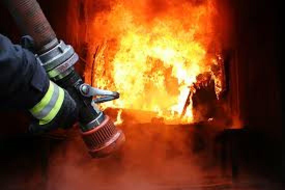 У Збаражі серед ночі загорівся житловий будинок