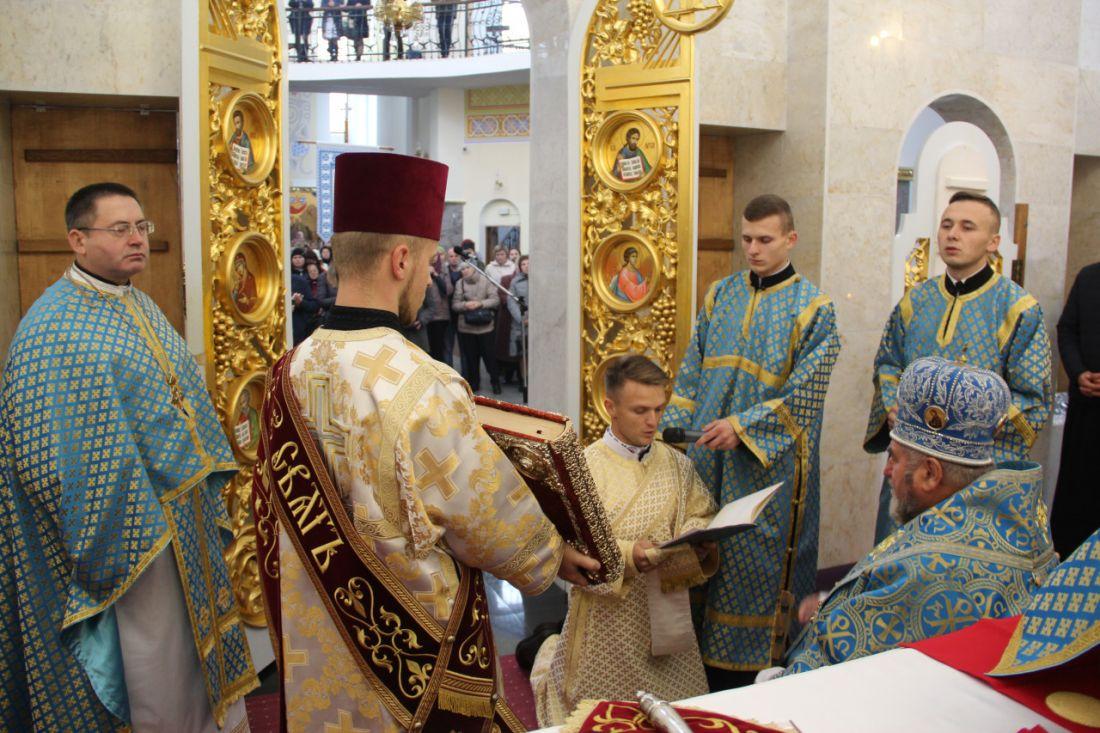 Для греко-католицької громади Тернопільщини висвятили нового священника