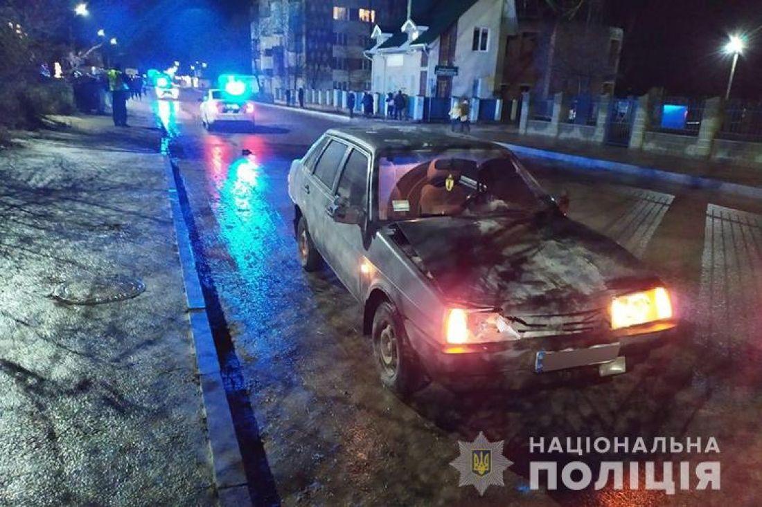 У Збаражі від удару автомобіля загинув пішохід