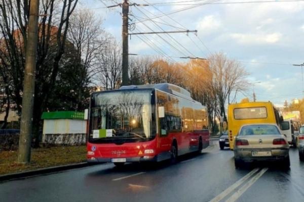 У Тернополі автобус №31 виїжджає за новим маршрутом