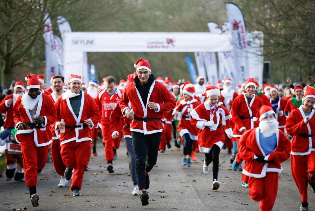 На старт, увага, руш: у Тернополі напередодні Нового року бігатимуть Санта-Клауси
