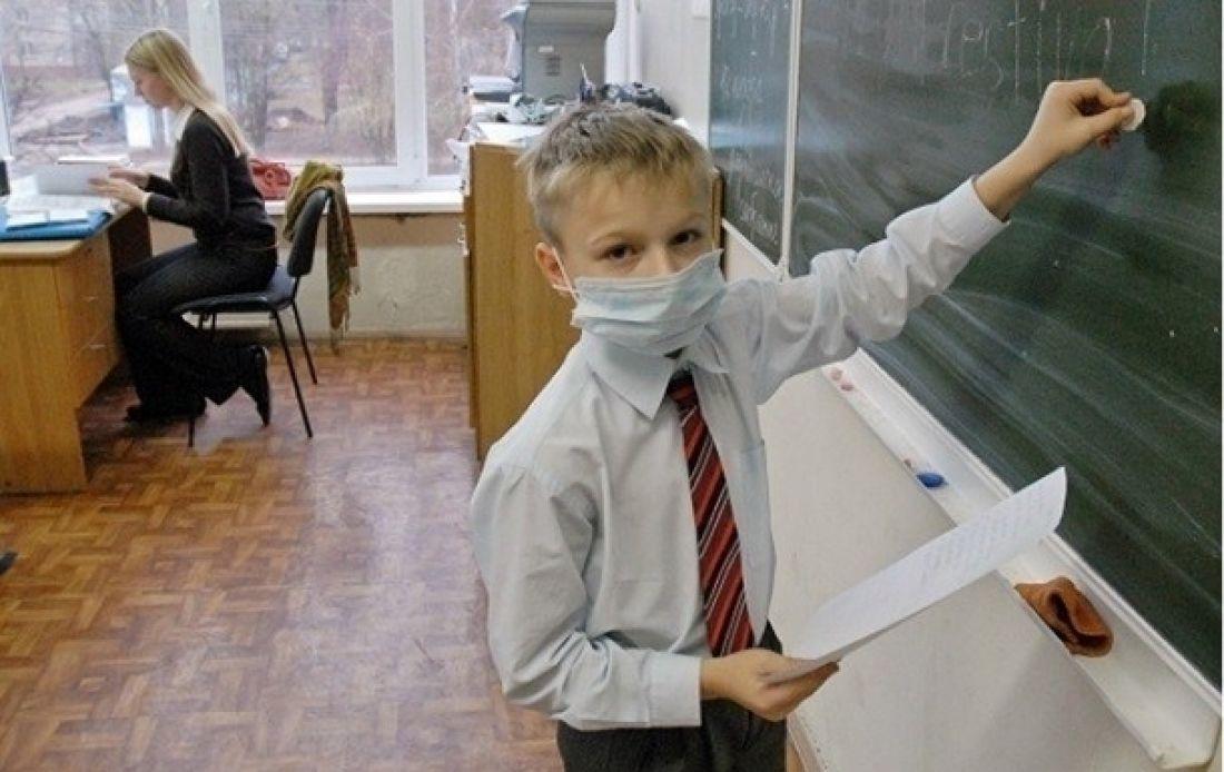У яких школах Тернополя найбільше хворих на грип та ГРВІ?