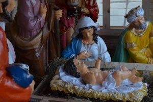 На Тернопільщині освятили різдвяну шопку