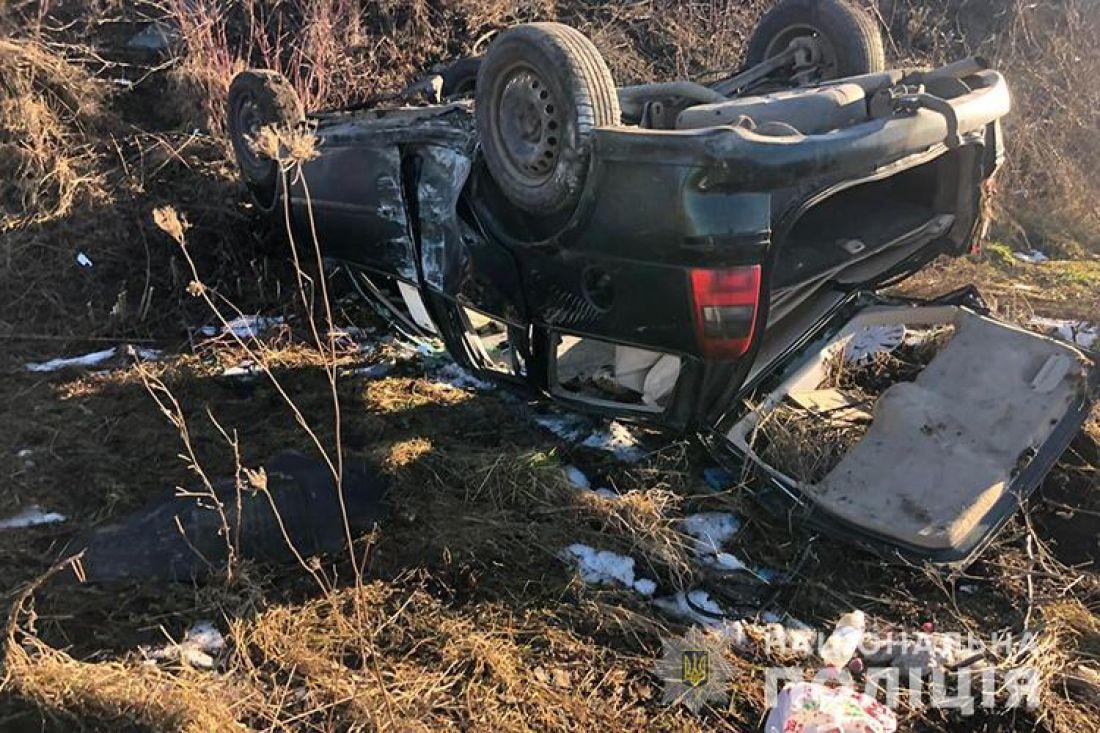 В машині було 5 пасажирів, троє з них – діти: на Тернопільщині у ДТП потрапила родина