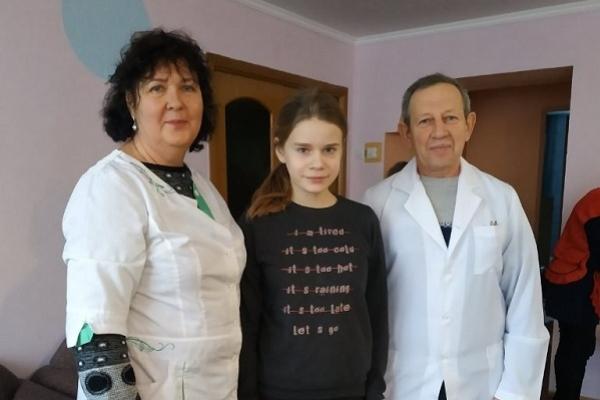 Фахівці ТНМУ здійснили медичний огляд вихованців Новосільського обласного спеціального навчально-виховного комплексу