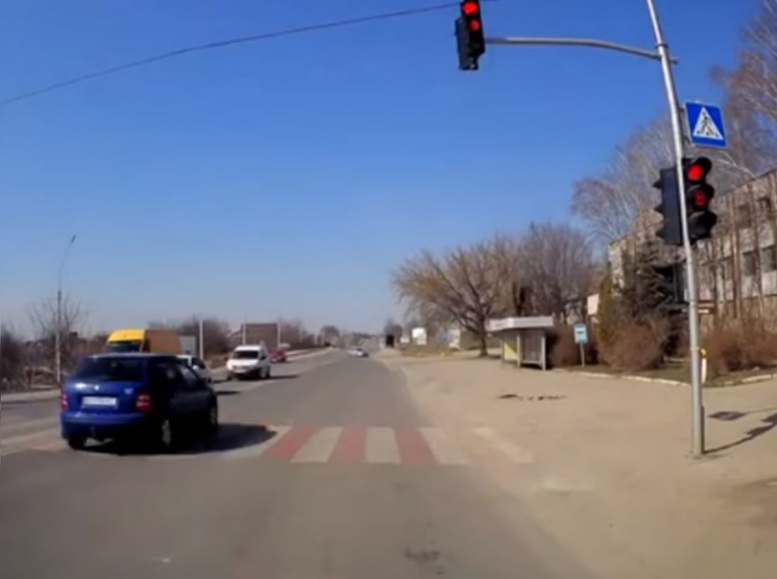 У Тернополі відшукали водія, який зухвало порушив ПДР (Відео)