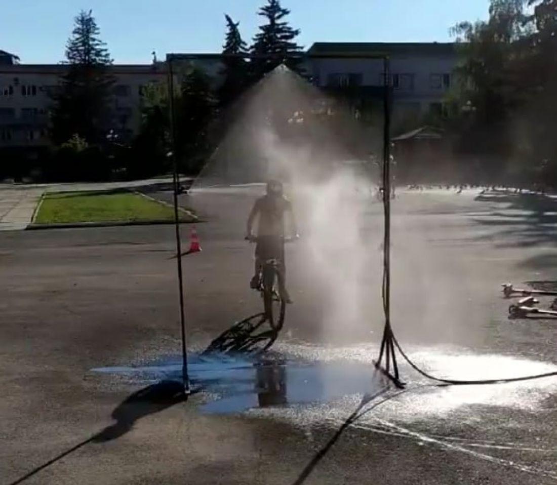 На Тернопільщині встановили водну рамку (Фото, відео)