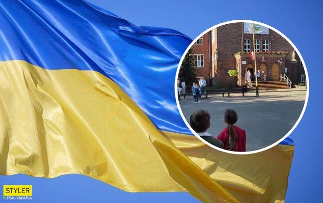 У польській школі 1 вересня пролунав Гімн України: відео «підірвало» мережу