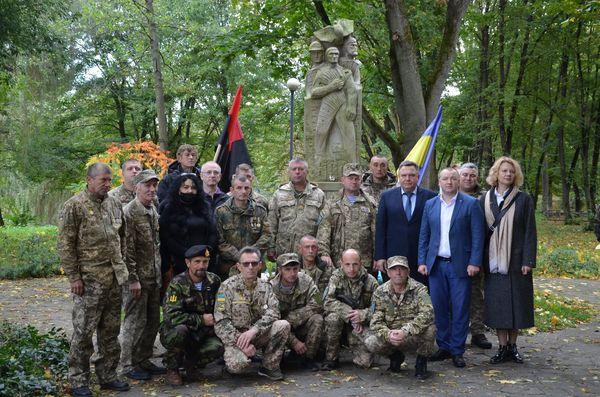 Як в Теребовлі, що на Тернопільщині, відзначили Покрови та День захисника України