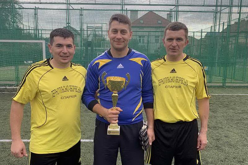 Священники Тернопільщини здобули призове місце у турнірі з мініфутболу