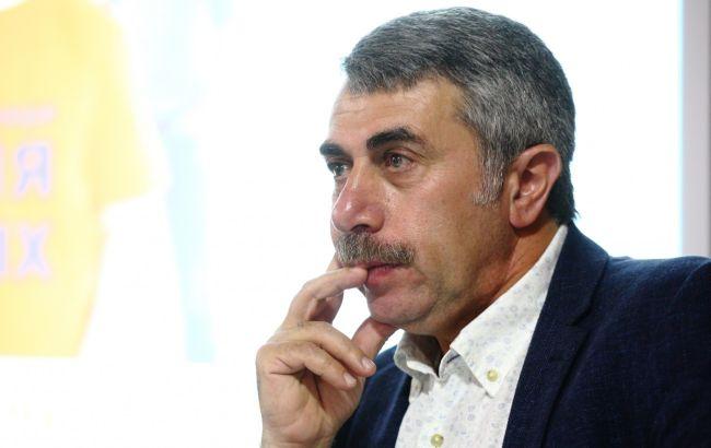 Комаровський пояснив, чому у дітей нежить після ГРЗ довго не проходить