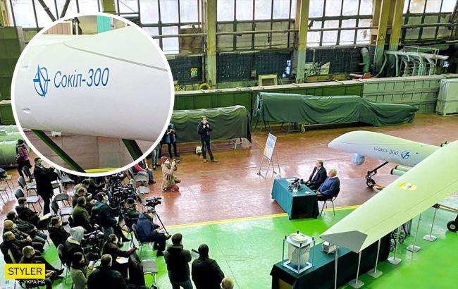 Українські фахівці показали новий ударний дрон-розвідник: що може «Сокіл-300»