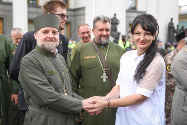 Людмила Марченко: «Я хочу звернути увагу усіх Вас на проект закону №4626 про військове капеланство»